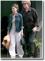 "Shania & Robert John ""Mutt"" Lange in Auckland (March 30, 2003)"