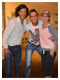 Fan Darius Zelazko Meets Shania and Frederic at Wolfgang Puck's Spago Restaurant - Las Vegas, USA - March 20.2013